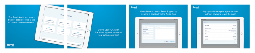 A closer look at the version 2.51 Revel Assist data backup app