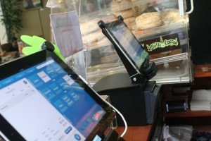 Revel Systems iPads on display at Philz Coffee