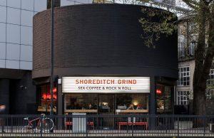 Exterior at Grind Shoreditch location