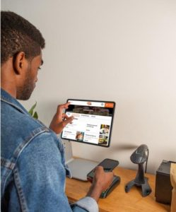 Use kiosks for a great digital customer journey