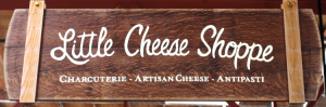 Little cheese shoppe sign