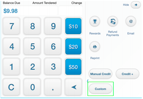 custom payment types